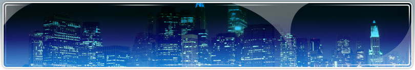 Night time city skyline pic for client section
